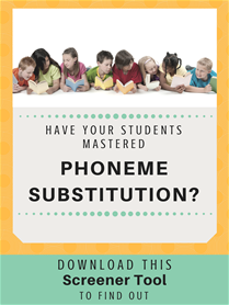 Phoneme Sub Screener Blog