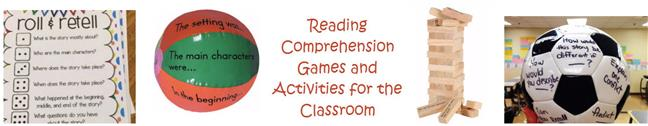 Reading Comprehension Games and Activities - vertical