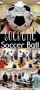 soccer ball - reading comprehension game