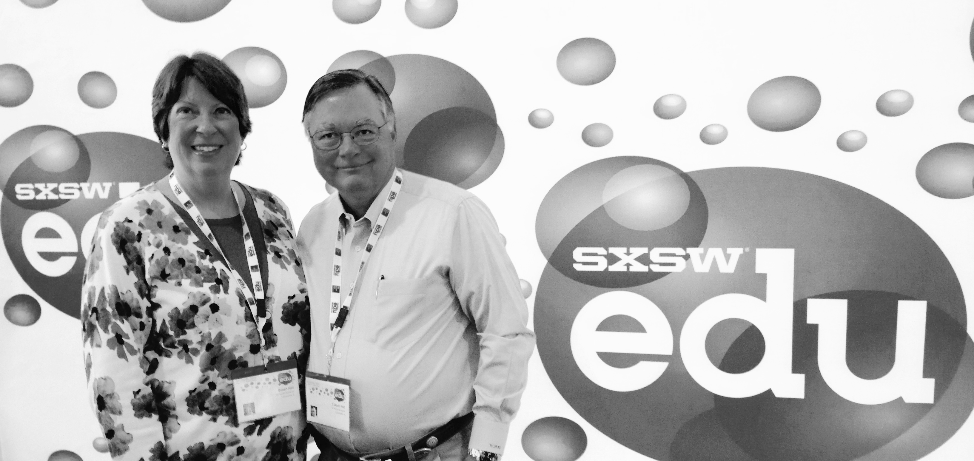 Susan and David at SXSW